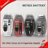 Metrix Vape Battery 650mAh Rechargeable Vape Pen Charger Kit Variable Voltage Preheat VV Vaporizer for Thick Oil Cartridges