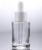 Прозрачная бутылка + белая крышка