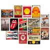 Champion Motor Oil Retro Tustic metal tin signs Wall Art Vintage Tin Poster Cafe Shop Bar Home Decor Metal Painting frameless painting