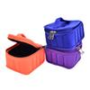 16Bottles Essential Oil Carrying Bag For 5ML 10ML 15ML Nail Polish Makeup Cosmetic Bag Traveling Double Zipper
