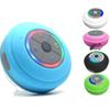 Wireless Bluetooth Speaker Waterproof Led FM Radio Subwoofer Bluetooth Column TF Card Suction Cup Mini Shower Speaker for cell phone tablet