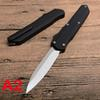3 Styles Utility Double Action Automatic Tactical Pocket Knife Aluminum alloy Black Handle Outdoor Rescue Camping Knives P918M R