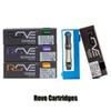 Rove Vape Cartridges Pyrex Glass Tank Pen Carts 1.0ml Ceramic Coil Thick Oil Atomizer For 510 Preheat Battery 12 Flavors