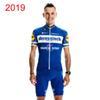 db217e58e 2019 QUICK STEP team Cycling Short Sleeves jersey (bib) shorts sets MTB Bike  Cycling