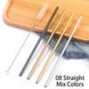 8 couleurs de mélange droites