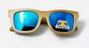 النظارات الشمسية الزرقاء فقط