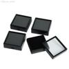 "Wholesale-Free Shipping 35pcs Black Earring Studs,Jewelry Trinket Plastic Display Case Box Showcase Tray,Gift Box 1.18x1.18"" #90472"