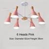 6 Heads Pink