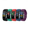 115 Plus Color Screen Bracelet Smart Wristbands Sports Heart Rate Blood Pressure Monitor Waterproof Activity Tracker watch