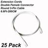 Accessories: 6.6Ft Extension Cords