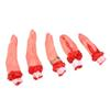 Wholesale-5Pcs Set Hot Halloween Horror Bloody Severed Fingers Chopped Chop Fingers Adult Gag Toys B11