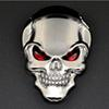 2016 New 3D Skull Bone Devil skull car stickers Motorcycle Car Tank Badge Decal Sticker