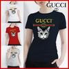 Ladies' cotton brand short-sleeved T-shirts Style, Fashion, Classic quality, good batch sales