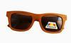 النظارات الشمسية البرتقالية فقط
