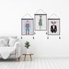 Decor Wall Scroll Hanging Tapestry Fashion Animals Hanging Painting,Sofa Background Hanging Cloth,Corridor,Porch,Electric Meter Box