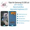 10PCS for Adjustable brightness LCD display Samsung Galaxy J5 2017 J530 SM-J530F LCD Screen Touch Screen Digitizer for J5 Pro Free Shipping
