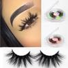 7 styles D801-D807 New design long mink eyelashes fluffy 20mm 25mm 3d mink lashes private logo