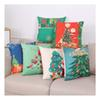 45 * 45CM Home Sofa Throw Pillowcase Christmas New Year gift pillowcase Merry Christmas Square Cover Cushion Decoration Ornament Home Decor