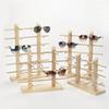 1 Pcs Wood Sunglass Display Rack Shelf Wooden Durable Eyeglasses Show Stand Holder QL Sale