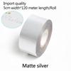 Матовое серебро-ширина 5 см*120 метров