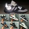 2019 nite jogger men women sneakers boost running shoes core black carbon original black grey size 36-45