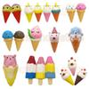 16cm Jumbo Kawaii Unicron Ice cream Torch Squishy Simulation Spicy Squeeze Vent face Icecream Bear Icecream Squishies kids