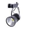 20 Watt LED COB Track Lighting Rail Lamp Clothing Shoes Store Spotlights 2 Wire Lighting AC 110V 220V 240V Black Shell 10pcs