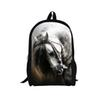 3D Women Men Backpacks Crazy Horse Printing Rucksacks For Teenage Girls Boys Casual Laptop Travel Book Shoulder Bagssumka