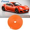 8M Car Wheel Hub Rim Edge Protector Ring Tire Strip Guard Rubber Stickers On Cars Orange Car Styling
