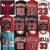 NCAA North Carolina Jerseys Bulls 23 Michael Jersey MJ Coby White 91 Dennis Rodman Jersey 33 Scottie Pippen Jerseys North Carolina College
