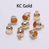7 * 10mm, 50Pcs / Lot KC Altın