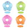 New dolphin Infant Neck Float Circle for Bathing Swimming cartoon PVC Inflatable 39cm 15 inches baby Safety Neck circle Dual airbags