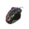 Kebidumei Mini LED Backlight Optical USB 7 Buttons Wired Mouse 5500DPI Gaming Mice USB 2.0 For Laptop PC Computer For Office