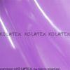 violet transparent avec gaine noire