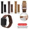 For Apple Watch iWatch Band 42mm 38mm Business leather watch strap with round and square tails for Apple Watch 3 2 1