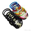 100pcs lot Black And Candy Colored Rubber Hair Band Women Elastic Hair Bands For Girls Hair Accessories