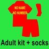 Erwachsene Kit + Socken Nein Name Keine Nummer