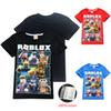 Roblox Kids Tee shirts 3 Colors 4-12t Kids Boys Girls Cartoon Printed Cotton T shirts Tees kids designer clothes SS118