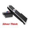 Pédale d'accélérateur Silver Thick