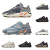 700 men women running shoes kanye west Magnet Vanta Inertia Wave Runner Utility Black mens trainer fashion sports sneakers size 36-45