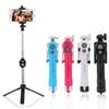 4 In 1 Multifunctional Selfie Stick Bluetooth Tripod Monopod Remote Shutter Extendable 80cm Monopod for iphone 6 7 8 plus Android stick