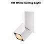5 W Branco Luz de teto
