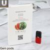 2018 Original Gem pods vs eon compatible for juul pods no leaking Cartridge 4 pods each packs free shipping by dhl