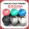 [ sp ] 1 pc Concave Grinders With Sharpstone Logo 40 50 55 63mm Herb Grinders 4 Layers sharp stone grinders Zinc Alloy Concave