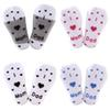 3 Pairs Lot Girl Boy Baby Socks Spring Autumn Winter Cotton knee high sock Infant Baby Skidproof Floor Socks Letter Tube Socks 0-3Y