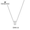 letter long necklace 18K rose gold diamond necklace fashion Korean short-chain titanium anti-allergic gifts