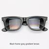 Siyah çerçeve gradyan gri lensler 901/32