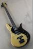 Alder Wood Body 4-string bass guitar butterfly luxury electric guitar