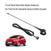 Freeshipping Front Roof Mounted Aerial Antenna for Fiat Punto Seicento Bravo Doblo Ducato