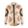 Men's 3G Flowers Tiger Pattern Mixed Color Luxury Casual Harajuku Shirt Long Sleeve Men's Medusa Shirt 4G M-2XL